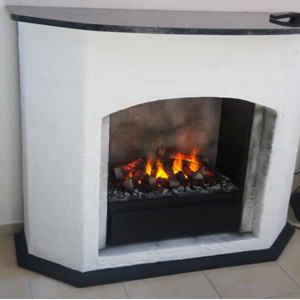 Dieser Elektrokamin bringt in das südliche Lebensgefühl ins Haus und mit der hervorragenden 3D-Feuertechnik auch die Wärme des Südens!