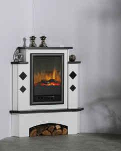 elektrokamin lissabon anthrazit feuer und flamme f r die ecke. Black Bedroom Furniture Sets. Home Design Ideas