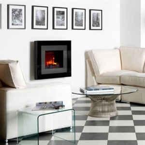 Dieser Elektro-Wandkamin verleiht jedem Raum eine wohlige und angenehme Atmosphäre.