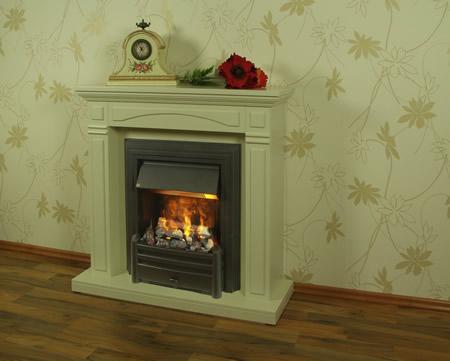 Das Highlight für jede Wohnung in creme-weißer Ausführung! Ein wunderschöne Kombination der Fassade mit harmonisch abgestimmten Applikationen.