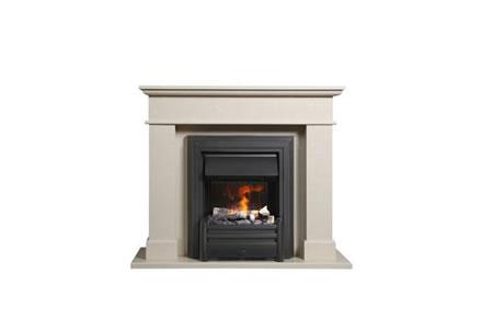 Schlichte Standardfassade aber wunderschön, dazu hervorragende Feuertechnik, das ist Toledo de Luxe - Standard
