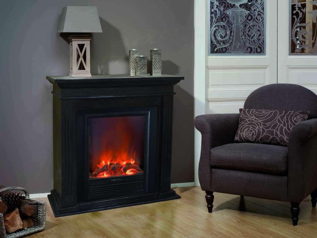 elektrokamin cadiz fossilsteinmarmor schwarz garvens elektrokamine und ethanol kamine. Black Bedroom Furniture Sets. Home Design Ideas